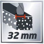 Einhell RT-RH 32  Fúró- Vésőkalapács SDS-Plus 1250W / 3,5J (+Ajándék fúrókészlet)