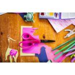 Fiskars gyerekolló, rózsaszín csillámokkal, 18 cm 3