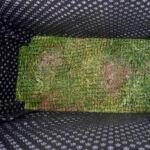 Borb Oasyst (133x 43 x 58 cm) égetett magaságyás vakondhálóval