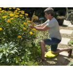 Nature Térdelő párna, 5 x 50,5 x 29 cm, citromsárga