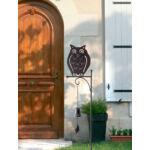Nortene Bellmet dekoratív fém leszúrható állatkák csengővel