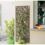Nortene Decoration Panel  fém panel, 0,6 x 1,5 Barna