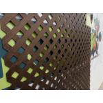 Nortene Privat térelválasztó panel, 1x2 m, barna