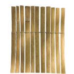 Nortene Bamboocane bambusznád kerítés, 1x5, Bézs