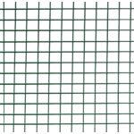 Nortene Fensanet Plast pont hegesztett  drótháló, 1x5, Zöld