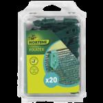 Nortene Fixatex rögzítő kapocs (20db), Zöld