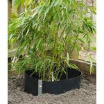 Gyökérvédelem, gyökércsapda HDPE, bambusz-szegély, 70cm x 3m, 1,2mm vastag