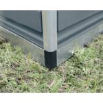 Palram Skylight 8x8 szürke kerti házak 6