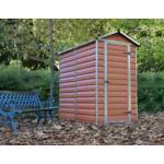 Palram Skylight 4x6 barna kerti házak 1