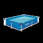 Bestway Amalfi Mini szögletes fémvázas medence 221 x 150 x 43 cm