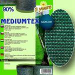 Árnyékoló háló MEDIUMTEX160 zöld 90%