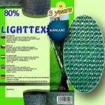 Árnyékoló háló LIGHTTEX 90g/m2