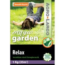 AGRO-LARGO Magic Garden - Lassan növő fűmag (Relax) - Kimérős - 1 kg