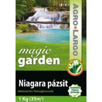 AGRO-LARGO Magic Garden - Pázsit fűmag - Kimérős - 1 kg