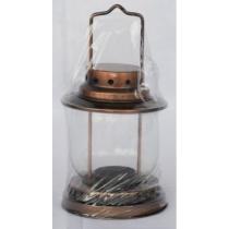 Lámpás- teamécseshez bronz 19 cm