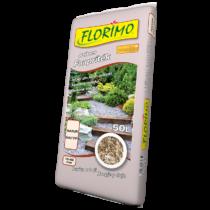 FLORIMO Színes faapríték barna 50 l