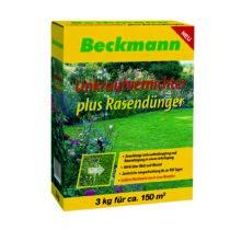 Beckmann gyomirtó gyeptrágya, 3 kg, 150m2, 22+5+5