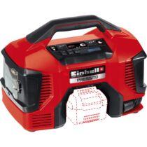 Einhell hybrid autós kompresszor - akkumulátoros Power X-Change család tagja