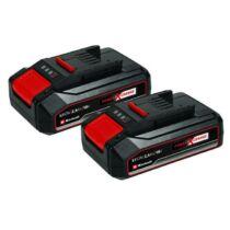 Einhell Power X-Change akkumulátor 2x 18V 2,5Ah PXC-Twinpack