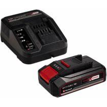 Einhell PXC Starter Kit akkumulátor és töltő 18V, 2.5Ah, Power X-Change