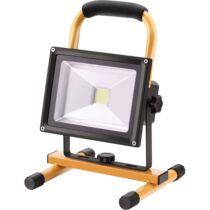 Extol hordozható LED lámpa (reflektor), 10/20W, 1400 Lm, Li-ion akkus