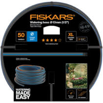 "Fiskars locsolótömlő, 13 mm (1/2""), 50 m Q4"
