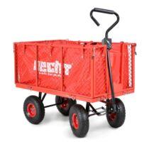 Hecht 52184 utánfutó kerti traktorhoz max. terhelés 300 kg
