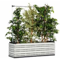Karsai magaságyás - kül- és beltéri növényláda műanyag borítással - L méret (134cm)