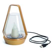 Nortene Aladin egyedi napelemes+USB töltős lámpás