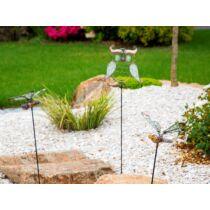 Nortene Lucily  földbe szúrható,stilizált fém figura foszforeszkáló elemekkel