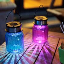 Nortene Boreal napelemes üveg mécses