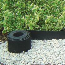 Nortene Selfix Bordura újrahasznosított gumi ágyásszegély, 13cmx10m, Fekete