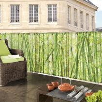 Nortene Bamboo festett bambusz mintás árnyékoló
