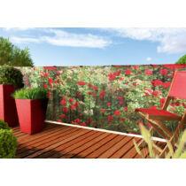 Nortene Stylia festett növénymintás árnyékoló