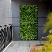 Nortene Vertical Tropic Természetes hatású, műanyag zöldfal  trópusi növényekkel