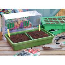 Nortene Heating Grow fűthető mini üvegház