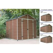 Palram Skylight 8x8 barna kerti házak