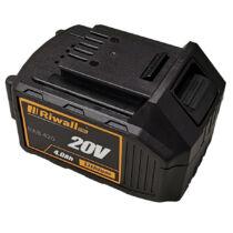 Riwall PRO RAB 420 - 20V Li-Ion akkumulátor 4Ah
