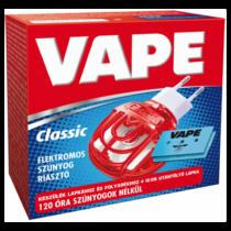 Vape Magic elektromos készülék lapkához és folyadékhoz+10 db szúnyogirtó utántöltő lap 10lap/120óra