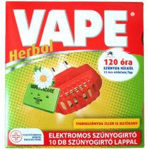 VAPE Herbál elektromos lapkás szúnyogírtó +10 lap