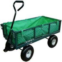 Fém, kerti kézikocsi 350 kg teherbírással