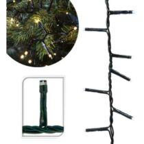 120 LED-es karácsonyi fényfüzér, 8 mozgó beállítással, meleg fehér