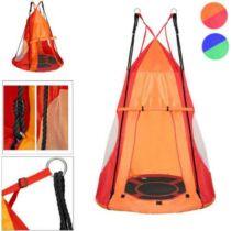 Fészekhinta sátorral 110 cm, piros