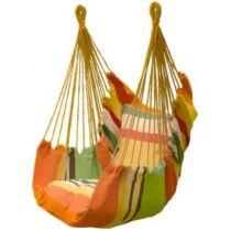 Függőszék párnával, narancssárga