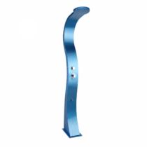 BELLAGIO alumínium szolárzuhany, lábmosóval, kék