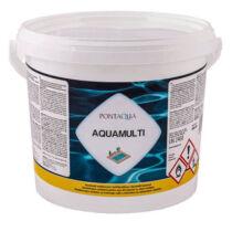 Multifunkciós medence fertőtlenitő tabletta Pontaqua Aquamulti 3kg (200gr-os)