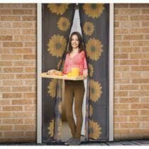 Szúnyogháló függöny ajtóra mágneses 100 x 210 cm napraforgós
