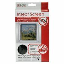 Szúnyogháló ablakra 150 x 180 cm fekete