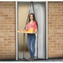 Szúnyogháló ajtóra 100 x 210 cm antracit fekete