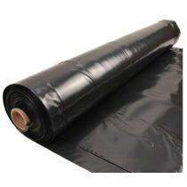 Fólia TVK Heliofol általános takaró fólia, fekete 6.5m x 0.12  - agrofólia - 1 évre UV stabilizált - méterre vágva is